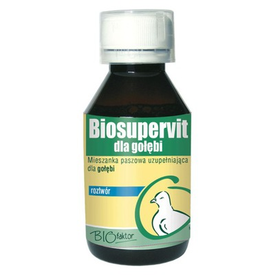 BIOFAKTOR Biosupervit - витамины для голубей 100 мл