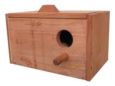 будка гнездования для ПОПУГАЕВ гофрированный ярко будки