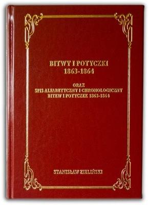 Zieliński Bitwy potyczki Mapy bitew Powstanie 1863