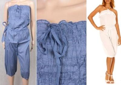 La REDOUTE niebieski kombinezon spodnium XS