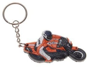 keychain krúžok GUMY MOTOCYKEL MOTOREK