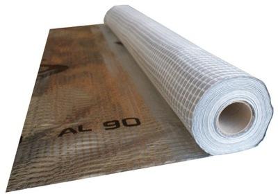 пленка пароизоляционная алюминиевая STROTEX AL 90 75м2