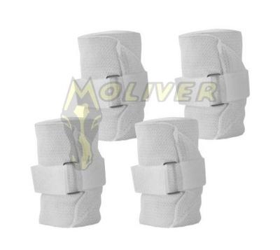 065e456bb144c Owijki polarowo-elastyczne York kpl 4szt białe 7487597104 - Allegro.pl