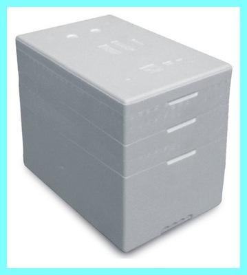 Pudełko styropianowe Termobox z dwoma Ringami 56 L