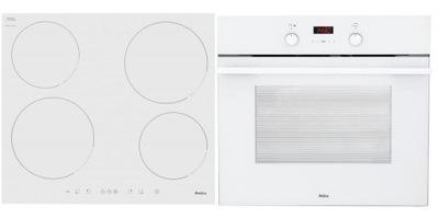 Печь Amica EB7541W + плита PI6140PWTU белая