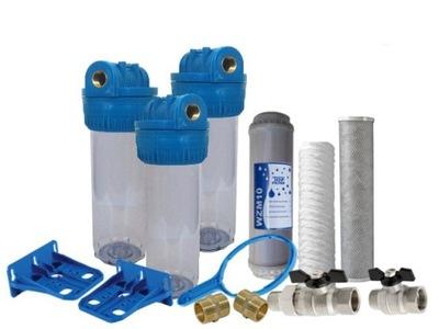 """Vodný filter 1\"""" súprava s tankovanie ventily"""