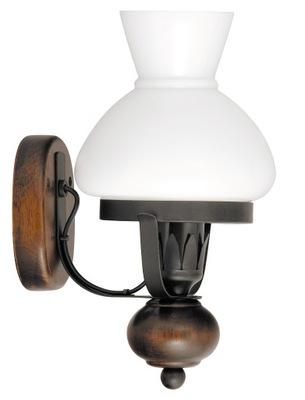 Svietidlá - KINKIET KLASYCZNY LAMPA NAFTOWA SALON PETRONEL