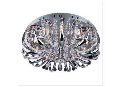 Svietidlá stropné svietidlá - 367 NOWOCZESNY ŻYRANDOL LAMPA SUFITOWA PLAFON LED