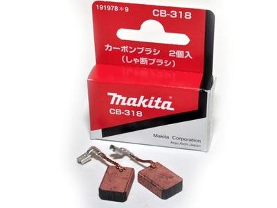 Drôtená kefa, kotúč - Uhlíkové kefy Makita CB318 CB-318 ORIGINAL !!