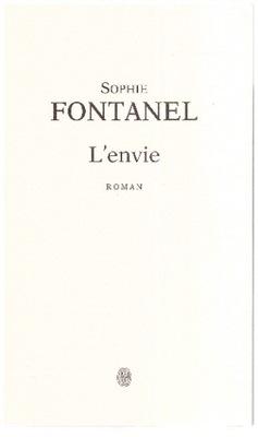 L'envie Sophie Fontanel po francusku francais