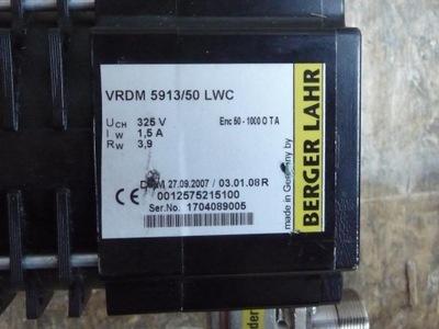servomotor BERGER LAHR VRDM 5913/50 LWC +PL50/PL85