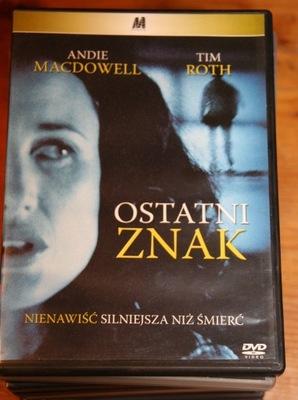OSTATNI ZNAK     DVD