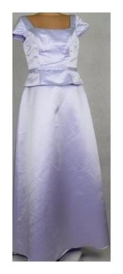 1c0919b371 Sukienka na wesele wrzosowa rozmiar 38 - 6926505675 - oficjalne ...