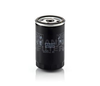MANN Filtr oleju W719/22 PORSCHE 924/944/928 2.5-3