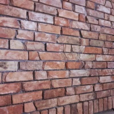 Старый Стена Кирпич Лицевая плитка Деревенской чердак