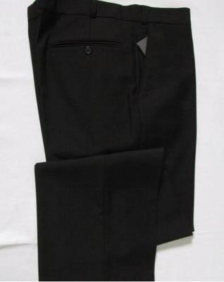 Spodnie Wizytowe Garniturowe Czarne108 / 188 Łódź