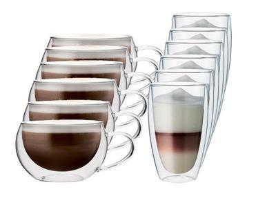 Pohár tepelnej káva, Cappuccino, Kávu a 12pcs