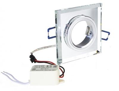 OSVETLENIE halogénové floodlight GU10 3W PANEL LED