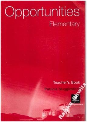 Opportunities Elementary Teacher's Book NOWA Engli