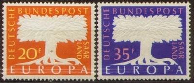 Саар. Мне 402-403 ** - Europa CEPT 1957
