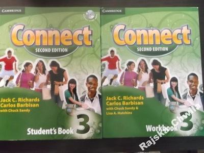 Connect 3 Podręcznik+CD+Ćwiczenia NOWY Komplet