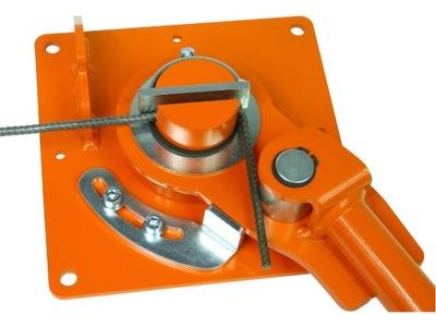 Giętarka do prętów strzemion drutu fi 6-16 GRO-4