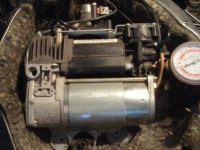 kompresor ZN zawieszenia pompa bmw x5 e53 4-kola 4