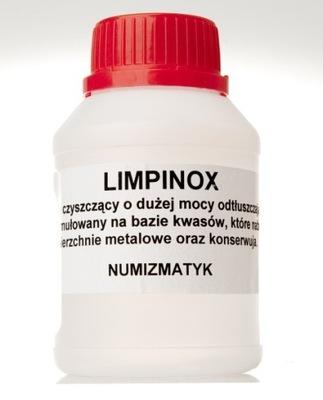 Płyn do czyszczenia monet - LIMPINOX
