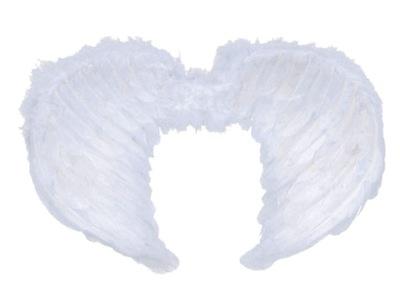 Karnevalový kostým, maska - veľké WINGS ANGEL 40 x 65 cm