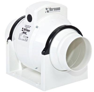 Ventilátor - Kanálový ventilátor ML 100/300 TIMER 315m3 / h tichý