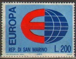 ??? - Марино. Мне 826 ** - Europa CEPT 1964