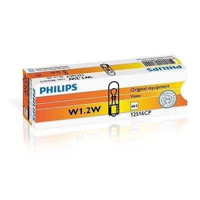 Żarówki Philips 10x W1.2.W Vision +30% światła