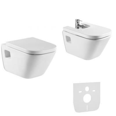 WC misa - ROCA GAP nastaví matricu na zakrytie bidetovej dosky