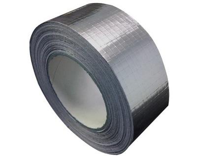 Páska hliníková POSILNENÉ SAMOLEPIACE 100 mm/50 m