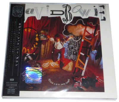 David Bowie - Never Let Me Down (CD) JAPAN MINI LP