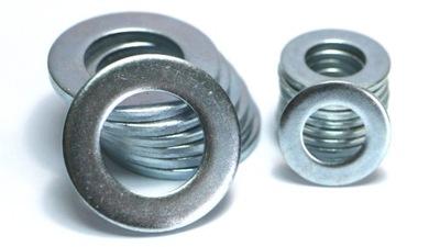 Podložka M10 DIN 125 pozinkované (1 kg = cca. 324 Ks)