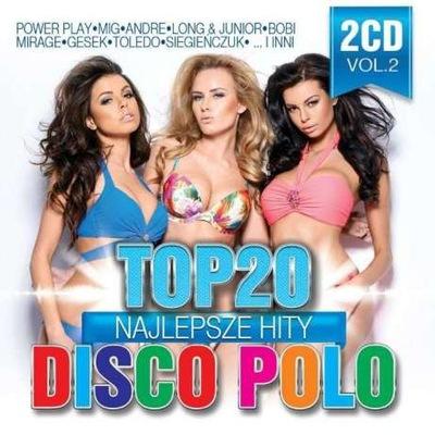 Nowość 2017 Top 20 - Hity Disco Polo vol.2 (2CD)