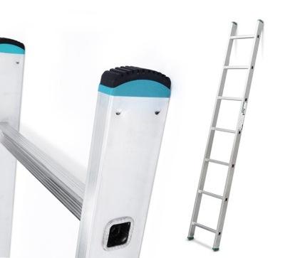 Лестница алюминиевая przystawną 1x7, 2 ,01 ? резинка