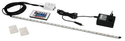 PROF LED pásik RGB pre akvárium 16 farieb IP68 50cm