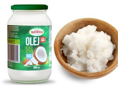 кокосовое масло 900ml нерафинированный  - TARGROCH