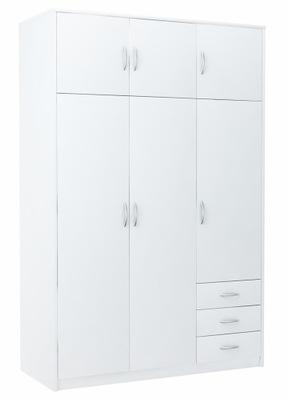 шкаф шкаф 6D3S белая 127cm комод, стеллаж полка