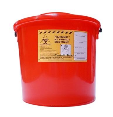 Pojemnik pojemniki na odpady medyczne zakaźne 5L