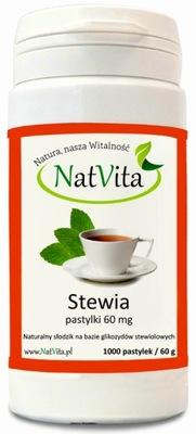 NatVita Стевия Стевия таблетки 60 мг 1000шт