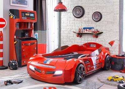 Posteľ auto pre chlapca, Nábytok, AUTÁ, AUTO RACING