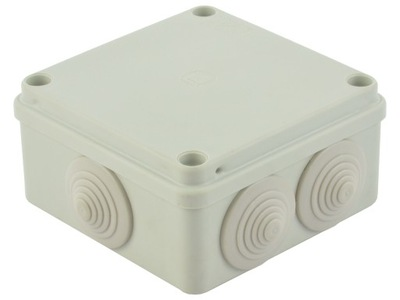 банка корпус на штукатурку герметичная 10x10x5cm IP65