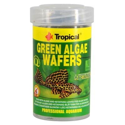 Tropical корм GREEN ALGAE WAFERS 250 мл удаление ???