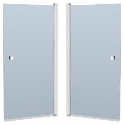 Sprchové dvere - CREATIVE SCREEN CRISTAL 140x70 grafit