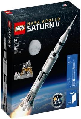 LEGO NÁPADY NASA Rakety Apollo Saturn V 21309