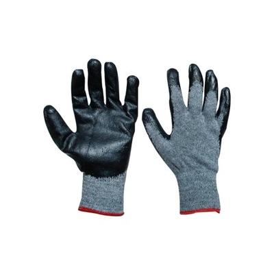 перчатки перчатки рабочие SZAROCZARNE R10 240PAR