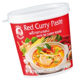 красная паста Карри ПЕТУХ 400г тайская +